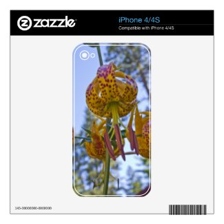 Humboldt Lily Skin For The Iphone 4s