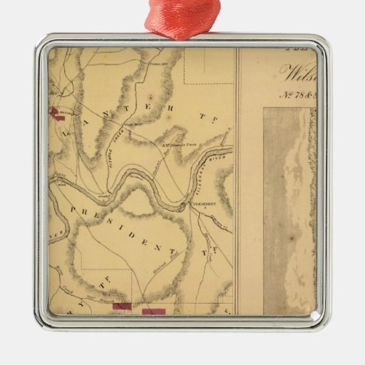 Humboldt Mining & Ref Co Ornament