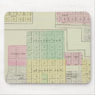 Humboldt, Moran City, and Laharp, Kansas Mouse Pad