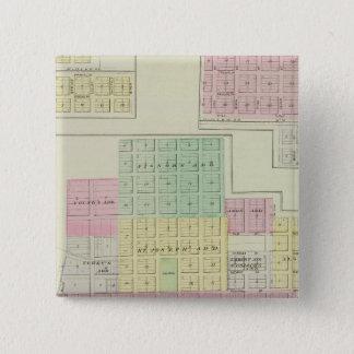 Humboldt, Moran City, and Laharp, Kansas Pinback Button