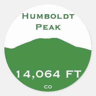 Humboldt Peak Classic Round Sticker