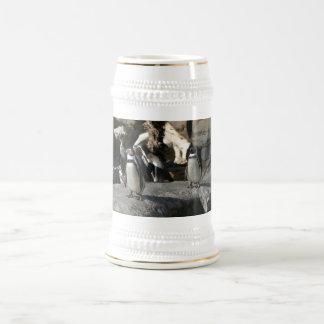 Humboldt Penguin Beer Stein