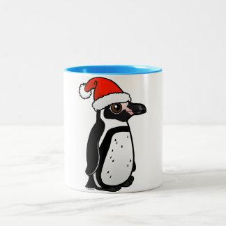 Humboldt Penguin Santa Two-Tone Coffee Mug