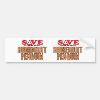 Humboldt Penguin Save Bumper Sticker