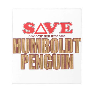 Humboldt Penguin Save Notepad