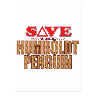 Humboldt Penguin Save Postcard