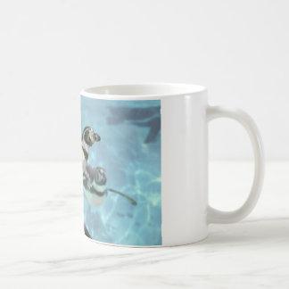 Humboldt penguin under water coffee mug