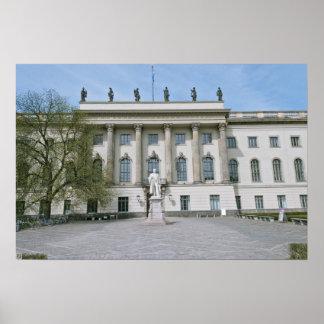 Humboldt University in Berlin Poster