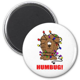 Humbug Doggie 2 Inch Round Magnet