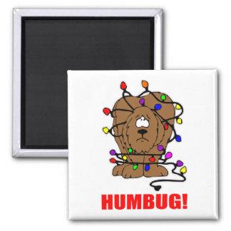 Humbug Doggie 2 Inch Square Magnet