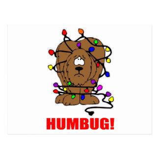 Humbug Doggie Postcard