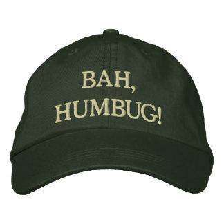 Humbug! Embroidered Baseball Caps