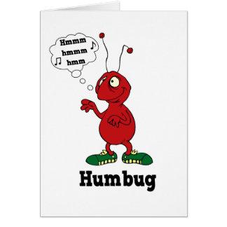 Humbug greeting card