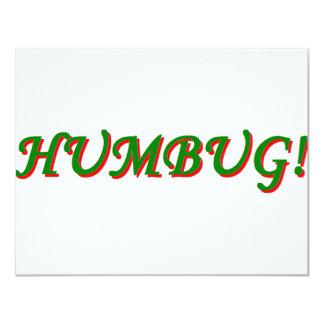 Humbug! 4.25x5.5 Paper Invitation Card
