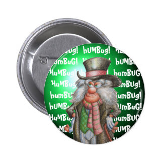 Humbug! Pinback Button