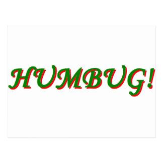 Humbug! Postcard