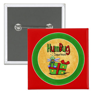 Humbug scrooge button