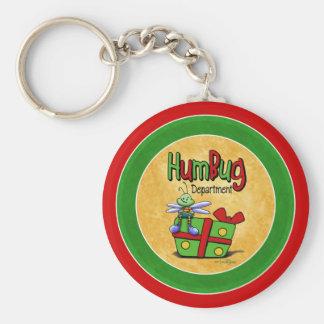 Humbug scrooge keychain