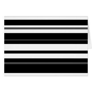 Humbug Stripe greetings card