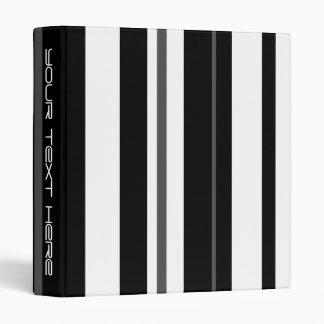 Humbug Stripe 'Your Text' binder long