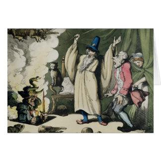 Humbugging or Raising the Devil, 1800 Card