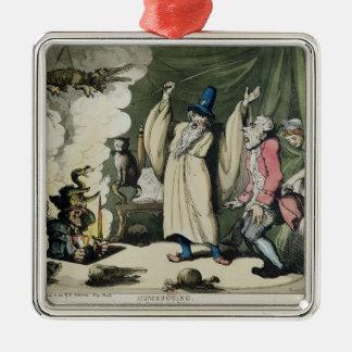 Humbugging or Raising the Devil, 1800 Metal Ornament