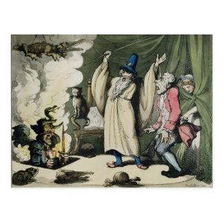 Humbugging or Raising the Devil, 1800 Postcard