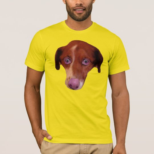 HUMDOG. Part human, part dog. T-Shirt