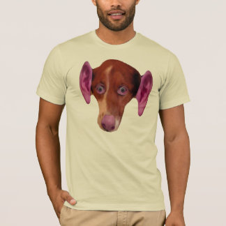 HUMDOG. Part human, part dog. T-Shirt