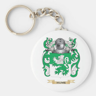 Hume Coat of Arms (Family Crest) Basic Round Button Keychain
