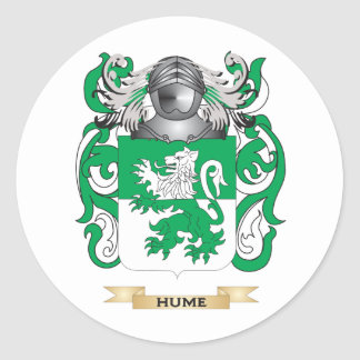 Hume Coat of Arms (Family Crest) Stickers