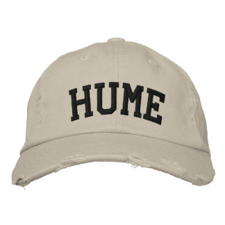 Hume Embroidered Hat Embroidered Hat