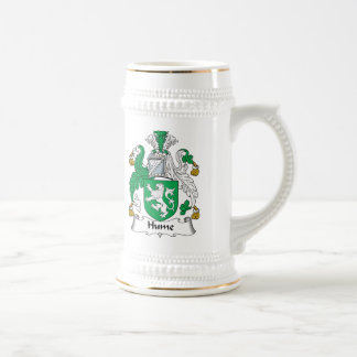 Hume Family Crest Beer Stein