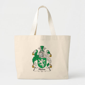 Hume Family Crest Large Tote Bag