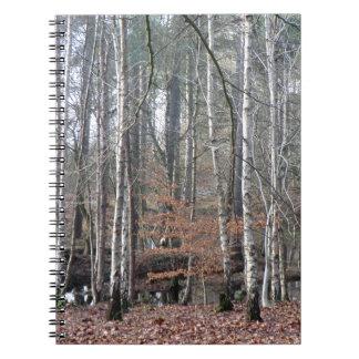 Humedal del bosque de Delamere Notebook