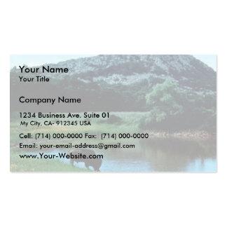 Humedales con el búfalo tarjetas de visita