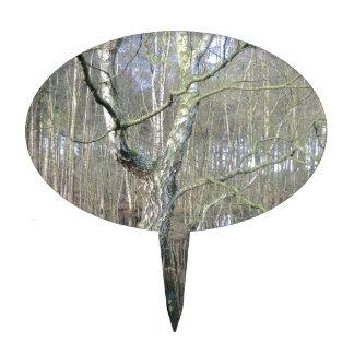 Humedales del bosque de Delamere Figura De Tarta