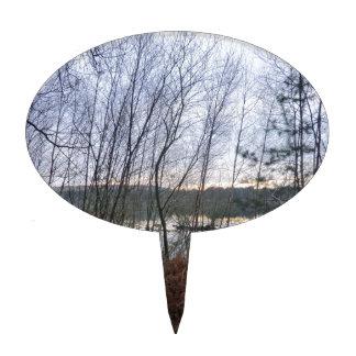 Humedales y musgo de Blakemere en el bosque de Del Decoraciones De Tartas