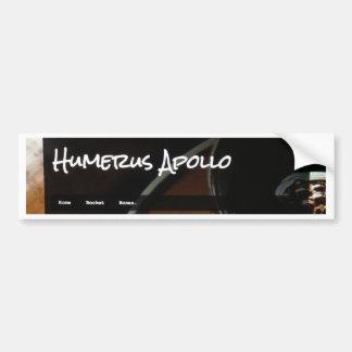 Humerus Apollo Blog Logo Bumper Sticker