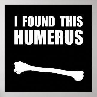 Humerus Poster