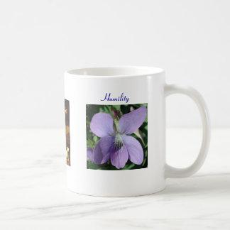 Humildad con la violeta - taza - parroquia