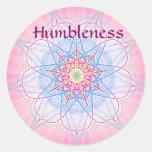 Humildad (pegatina de la virtud)