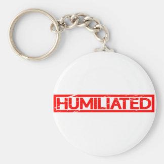 Humiliated Stamp Keychain