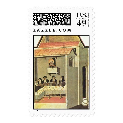 Humility-Polyptych: Eleven Scenes From The Life Postage