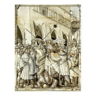 Humillación de Hans Holbein- de la valeriana del e Postales