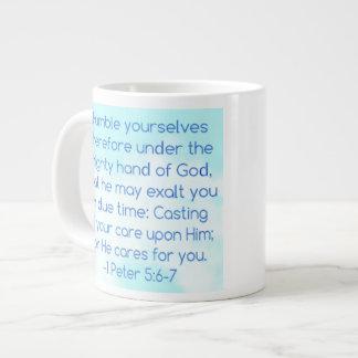 Humíllese taza taza grande