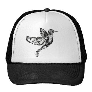 Huming bird trucker hat
