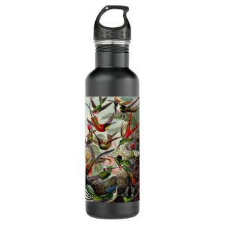 Humingbird Zoological print bottle 24oz Water Bottle