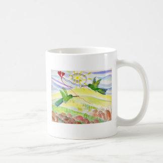 Humingbirds in Love Mugs