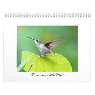 Humm with Me! Calendar